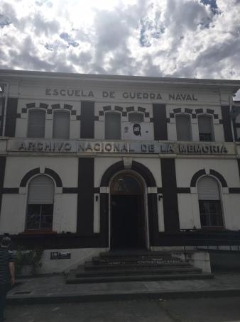 Archivo Nacional de la Memoria edificio